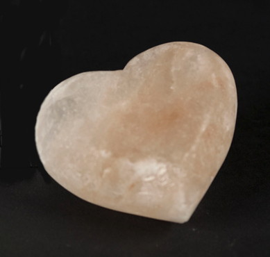 Heart Shaped Salt Crystal Energy Massage Bars - Set of 10