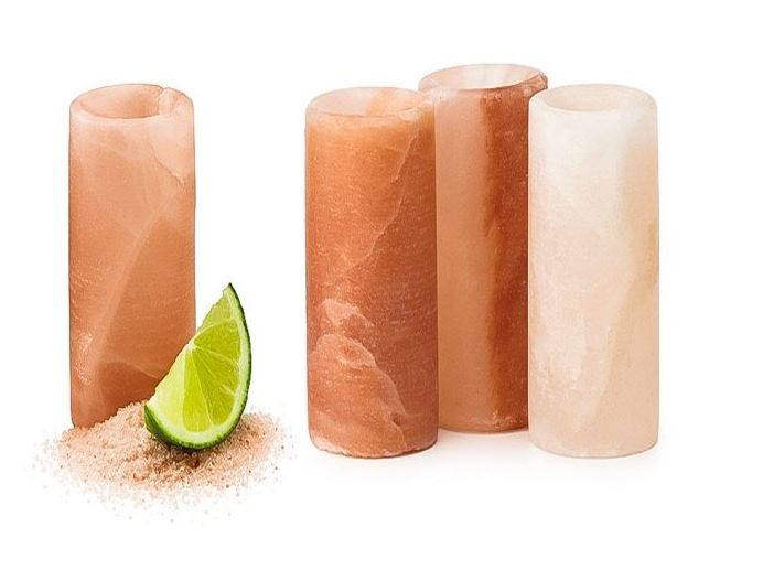 Himalayan Salt Shot Glasses - Set of 4