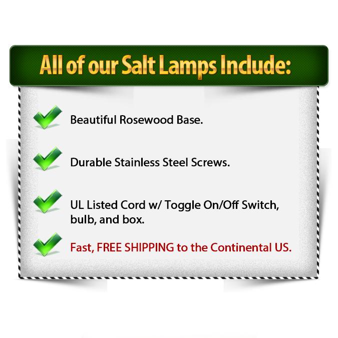 Salt Lamp Includes