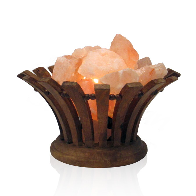Salt Basket Lamps
